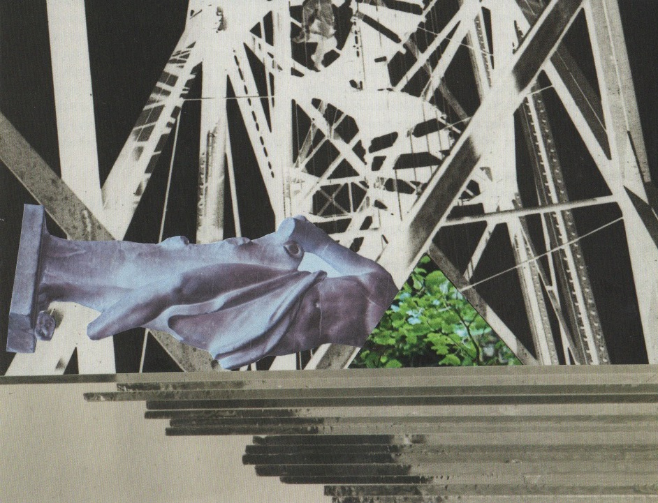 Kate HOLFORD - A Vital Dissolving of Shame (collage) 2018
